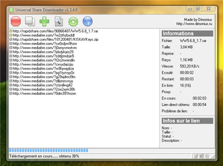 Universal Share Downloader FR (04.12.2009)